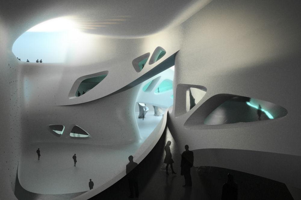 Zaha HadidZaha Hadid Museum Interior